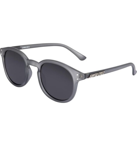Bank Sunglasses Clear Charcoal