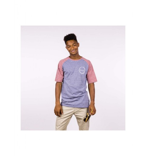 SMILE SS T-SHIRT HEATHER...