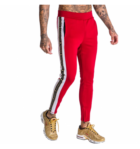 JOGGERS WITH GOLD LUREX RIBBON