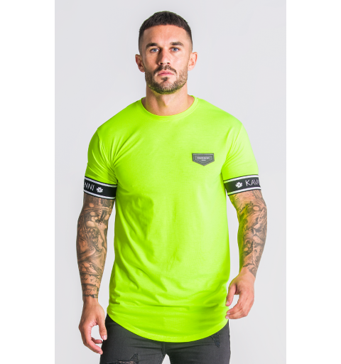Neon Yellow T-Shirt With GK...