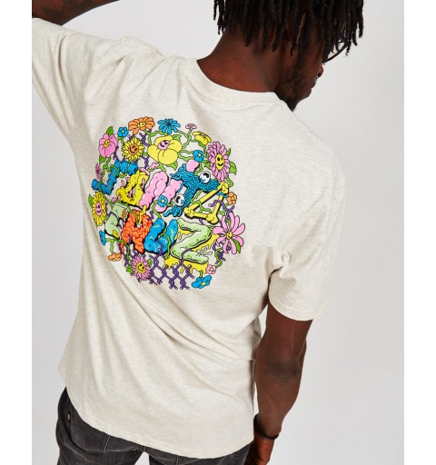 TEE BAKED DOT Athletic heather