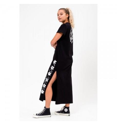DRESS JAPANESE BLOSSOM  BLK