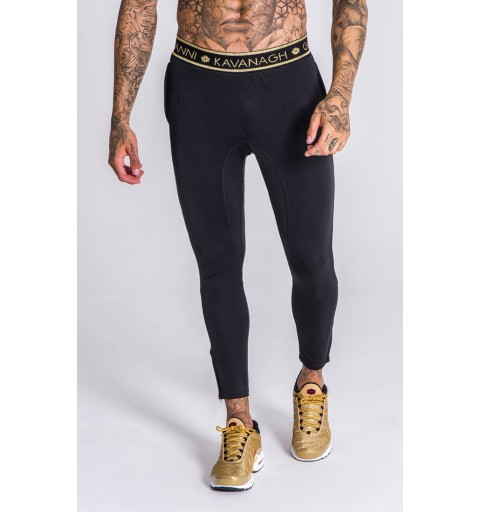 Black Scuba Joggers With Gk...