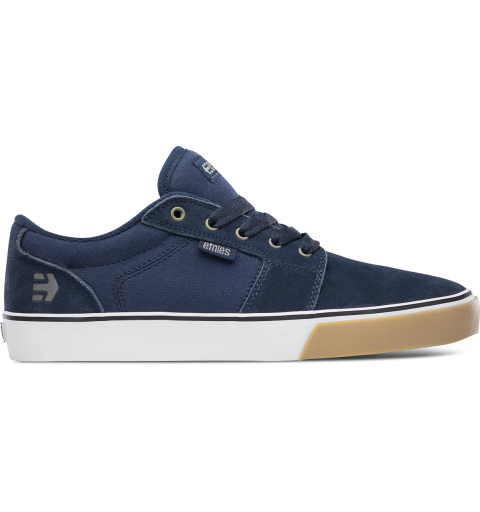BARGE LS NAVY/TAN/WHITE