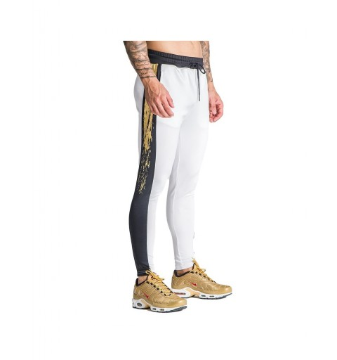 White Trousers With Gold...