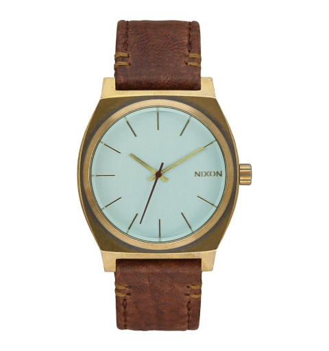 TIME TELLER BRASS/GREEN