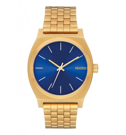 TIME TELLER ALL GOLD BLUE...