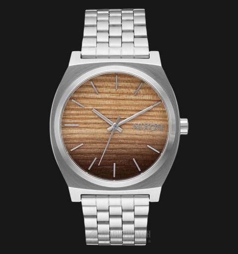 TIME TELLER WOOD/SILVER