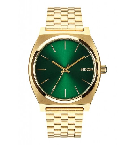 Time Teller Gold/Green Sunray