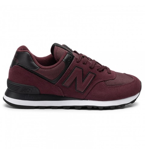 NB ML574 BURGUNDY