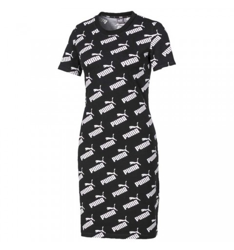 AMPLIFIED AOP FITTED DRESS...