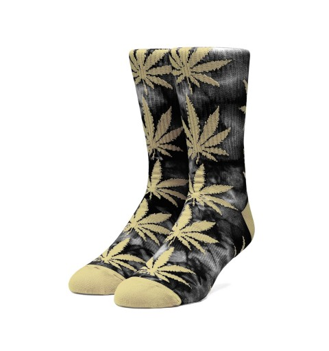 Plantlife Tiedye Sock Black
