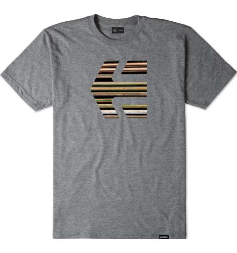 Deck Icon Tee Grey Heather