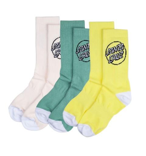 Pop Dot Sock Santa Cruz