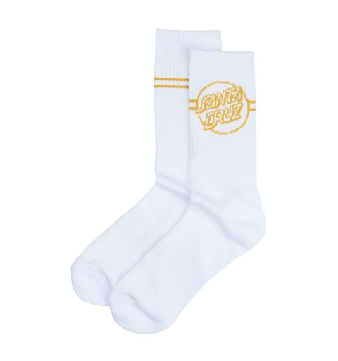 Sock Opus Dot Stripe WHT...