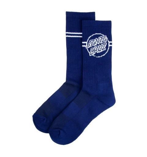 Sock Opus Dot Stripe NVY...
